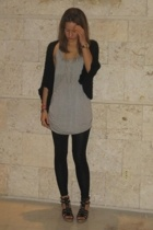 bare accessories sweater - forever 21 top - American Apparel leggings - GoJane s