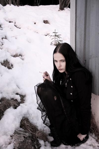 thrifted Tutu skirt - black duffy boots - black forever21 jacket