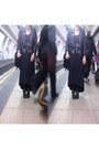 Ebay-boots-maxi-grey-asos-dress-black-leather-miss-selfridge-jacket