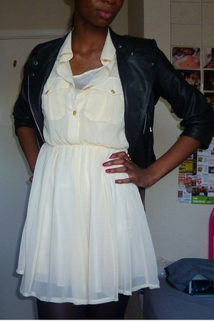 Primark dress - Topshop jacket