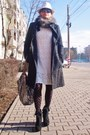 Zara-dress-zara-coat-catwalk-bag