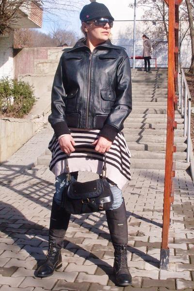 East Village jacket - Gap bag