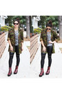 Platforms-shellys-london-boots-camo-jacket-brooklyn-flea-jacket