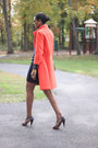 Ralph-lauren-dress-bright-orange-tibi-coat-clutch-jj-winters-bag