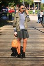 Black-ankle-schutz-boots-olive-green-army-london-jacket-navy-h-m-sweater