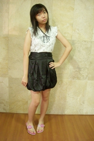 Princess shirt - Princess skirt - Charles & Keith shoes