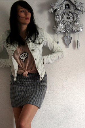 H&M top - Zara jacket