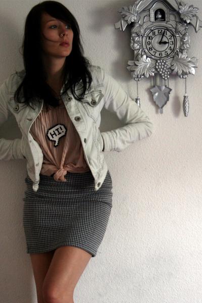H&M top - Zara jacket