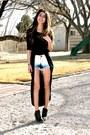 Topshop-boots-forever-21-dress-gap-shorts