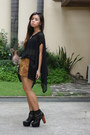 Black-jeffrey-campbell-boots-light-brown-forever-21-shorts-black-top