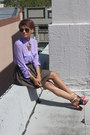 Light-purple-funky-elegance-shirt-army-green-bb-dakota-skirt