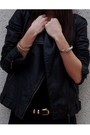Black-zara-dress-black-maje-jacket-red-deena-ozzy-shoes