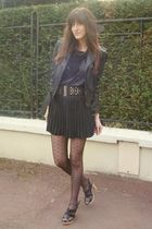black vintage skirt
