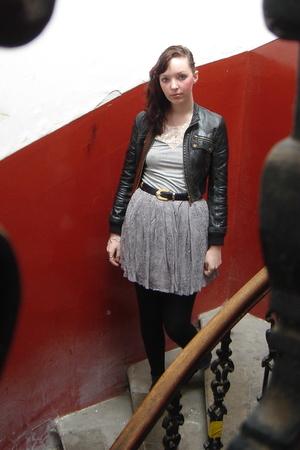 jacket - Topshop top - Topshop skirt