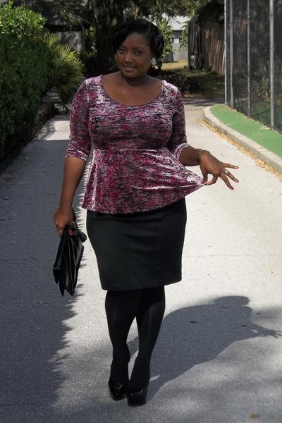 peplum Jcpenny blouse