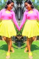 cotton sweatshirt - skirt