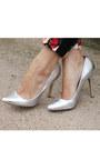 Silver-romwe-bag-white-peplum-h-m-shirt-silver-asos-pumps-floral-h-m-pants