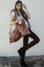 Vest-shoes-jeans-shirt-bag-