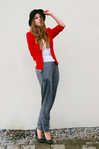 jacket - red blazer