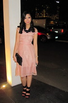 D&G dress - Tyler - stella luna - Aldo necklace