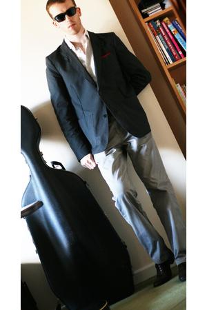 j lindeberg jacket - jasper conran pants - Jones shoes - accessories