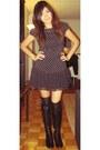 Rosegold-boots-h-m-shirt-forever21-skirt