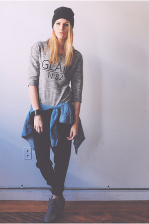 Jeffrey Campbell boots - harem H&M pants - KUT from the kloth top