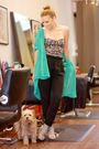 Green-american-apparel-blouse-black-wilfred-pants-gray-dolce-vita-shoes-pi