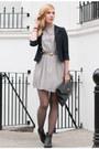 Black-jeffrey-campbell-boots-charcoal-gray-dahlia-dress-navy-vintage-blazer