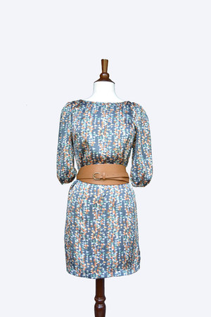 Blue Revolt dress