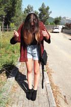 Ebay shoes - Levis shorts - sunglasses