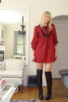 French Connection dress - boots