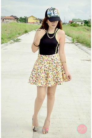 worn as top Terranova dress - neoprene mags skirt