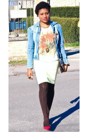 Zara shoes - ovs skirt - Zara t-shirt