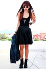 Black-ali-skater-motelrocks-dress-navy-denim-mango-jacket