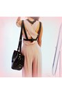 Black-woakaocom-bag-light-pink-inlovewithfashioncom-romper