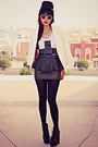 Black-studded-lace-up-choiescom-boots