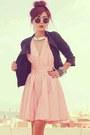 Black-forever-21-boots-bubble-gum-open-back-clubcouture-dress