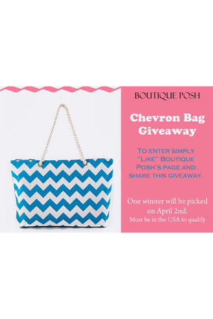 Chevron bag bag