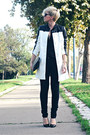 White-sheinside-coat-black-mango-jeans-black-oasapcom-bag