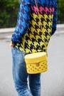 Blue-lindex-jeans-navy-6ks-shirt-yellow-pull-bear-bag-navy-zara-pumps