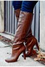 Brown-sheinside-vest-dark-brown-stradivarius-boots-eggshell-oasap-coat