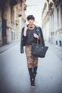Black-lulus-jacket-black-romwe-bag-brown-zara-skirt-black-reebok-sneakers