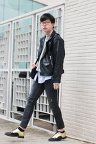 Squarestreet shoes - Monki jumper - insight51 pants