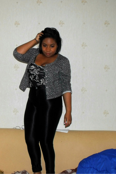 black street style American Apparel pants