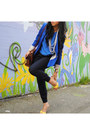 Blue-h-m-top-yellow-shoes-blue-zara-blazer-dark-brown-spring-bag