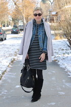 Target jacket - Chinese Laundry boots - Target dress - Old Navy coat