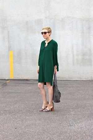 Zara dress - Target bag - DSW heels