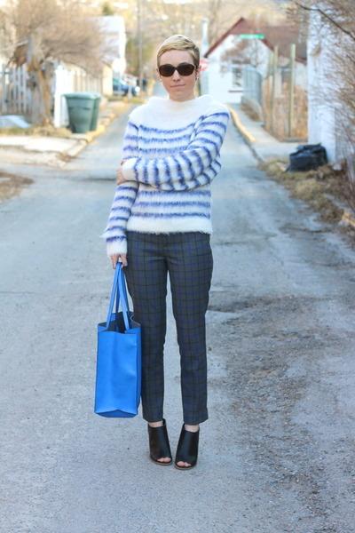 H&M sweater - Zara bag - Gap pants - Target heels
