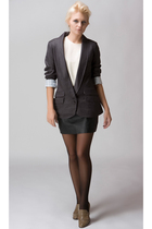 Heartloom blazer - gestuz skirt